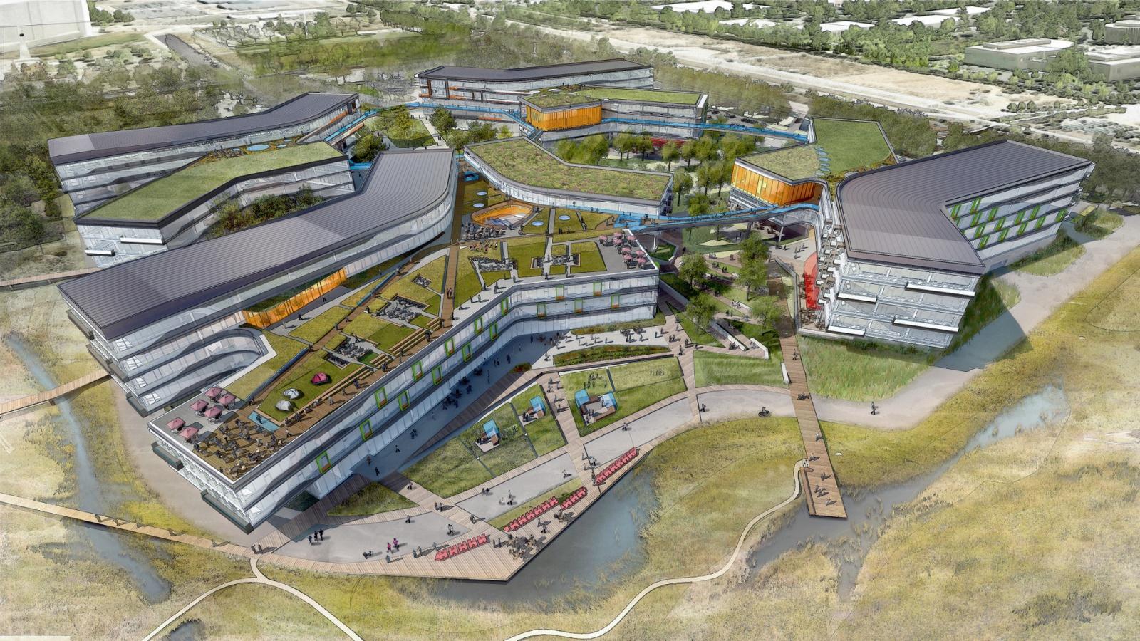 Взгляд в будущее: Как будут выглядеть штаб-квартиры крупных ИТ-компаний - 2
