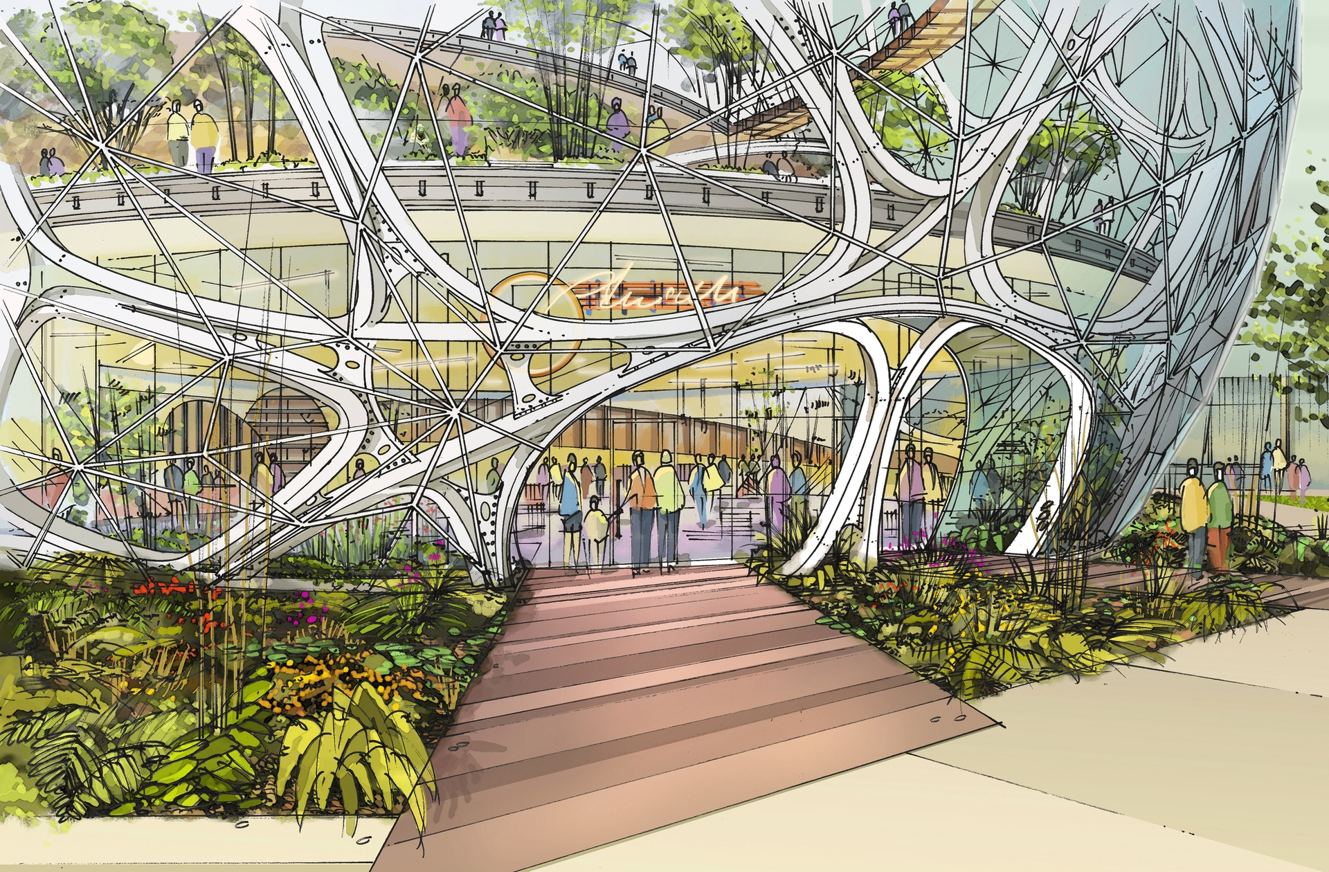 Взгляд в будущее: Как будут выглядеть штаб-квартиры крупных ИТ-компаний - 9