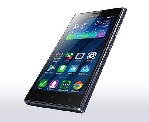 5 дюймовый смартфон Lenovo P70 получил аккумулятор на 4000 мАч