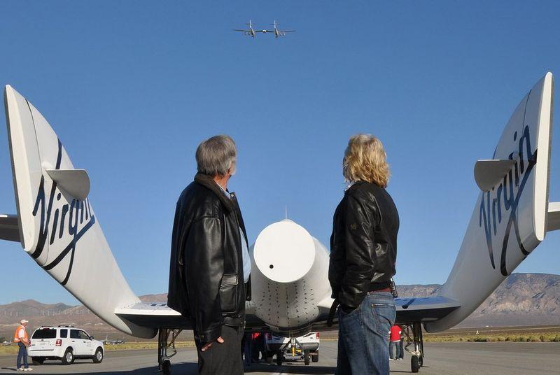 Virgin Galactic построит систему для запуска спутников в аэропорту Лонг Бич - 1