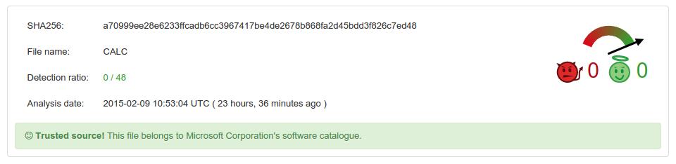 VirusTotal будет отслеживать false positive - 2