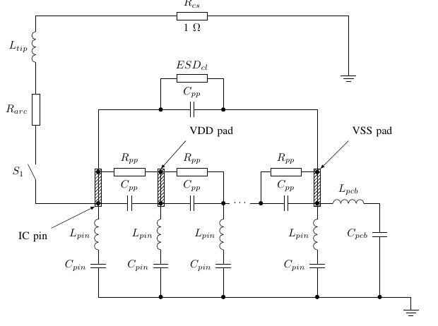 Электрические схемы средствами LaTeX и TikZ - 1