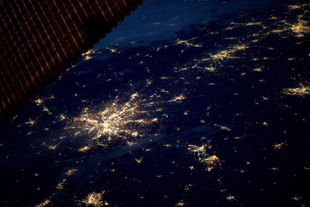 Фотографии Земли с МКС от космонавта Терри Вертса - 10