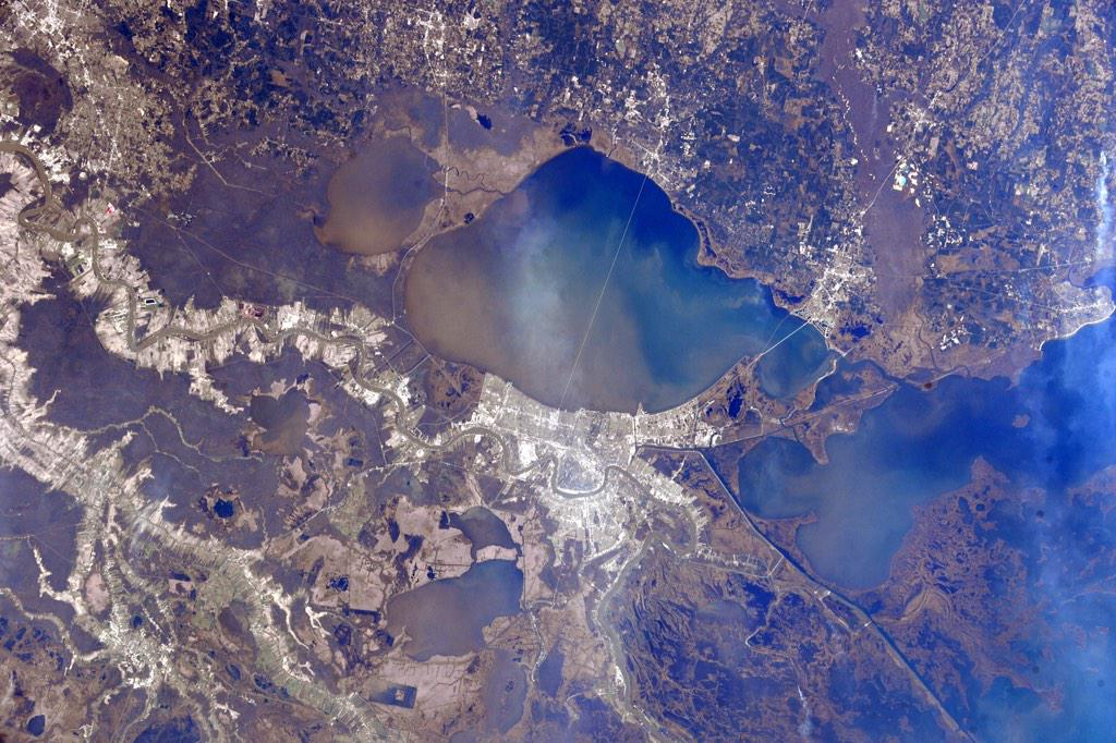 Фотографии Земли с МКС от космонавта Терри Вертса - 2