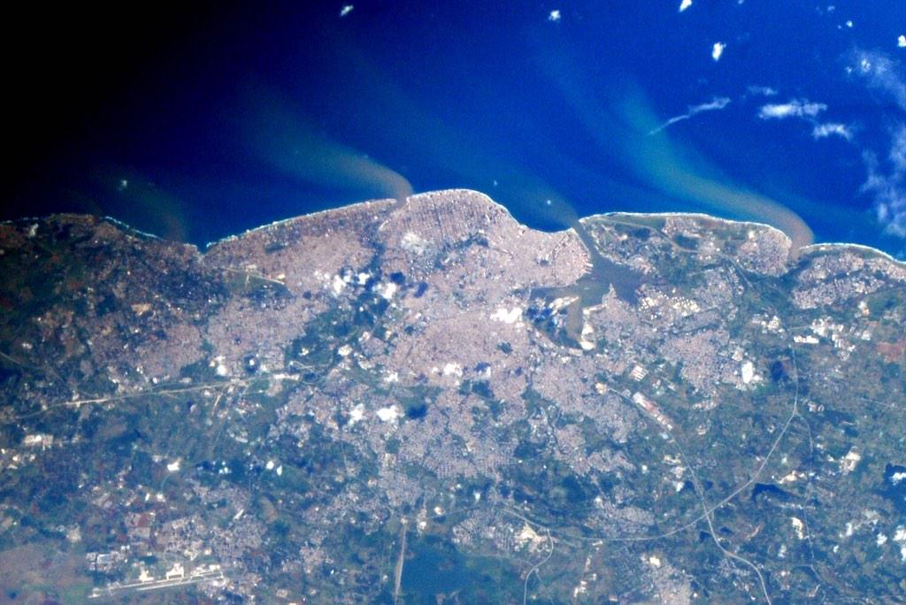 Фотографии Земли с МКС от космонавта Терри Вертса - 4
