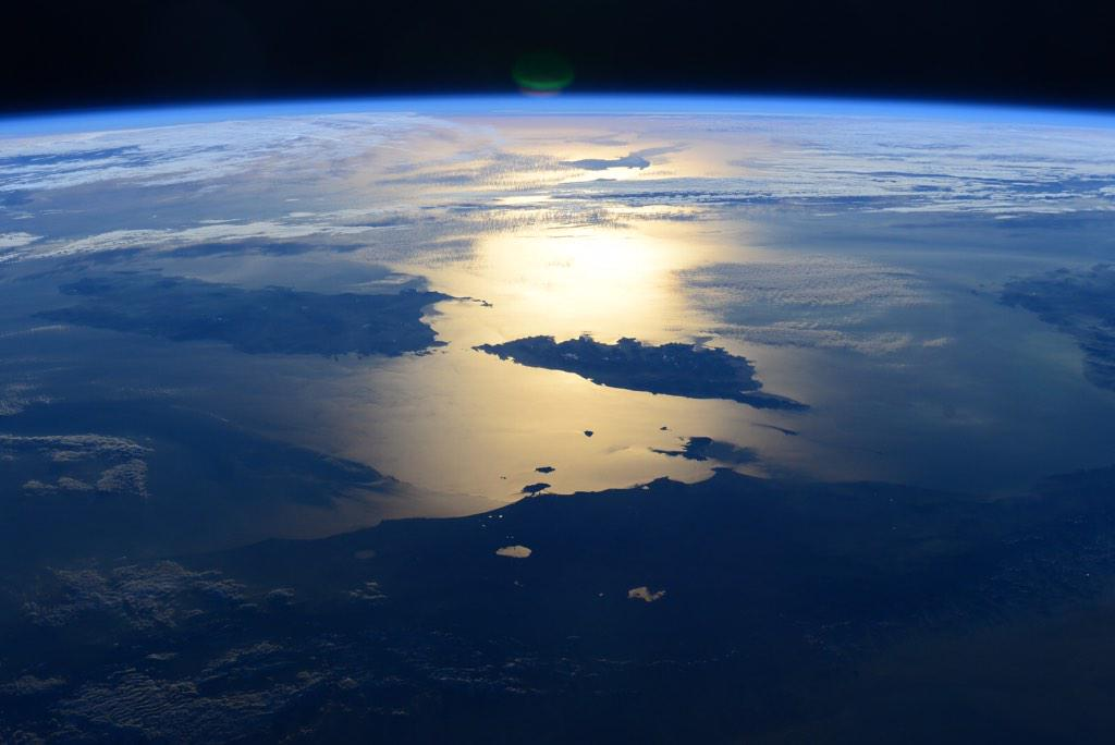 Фотографии Земли с МКС от космонавта Терри Вертса - 5