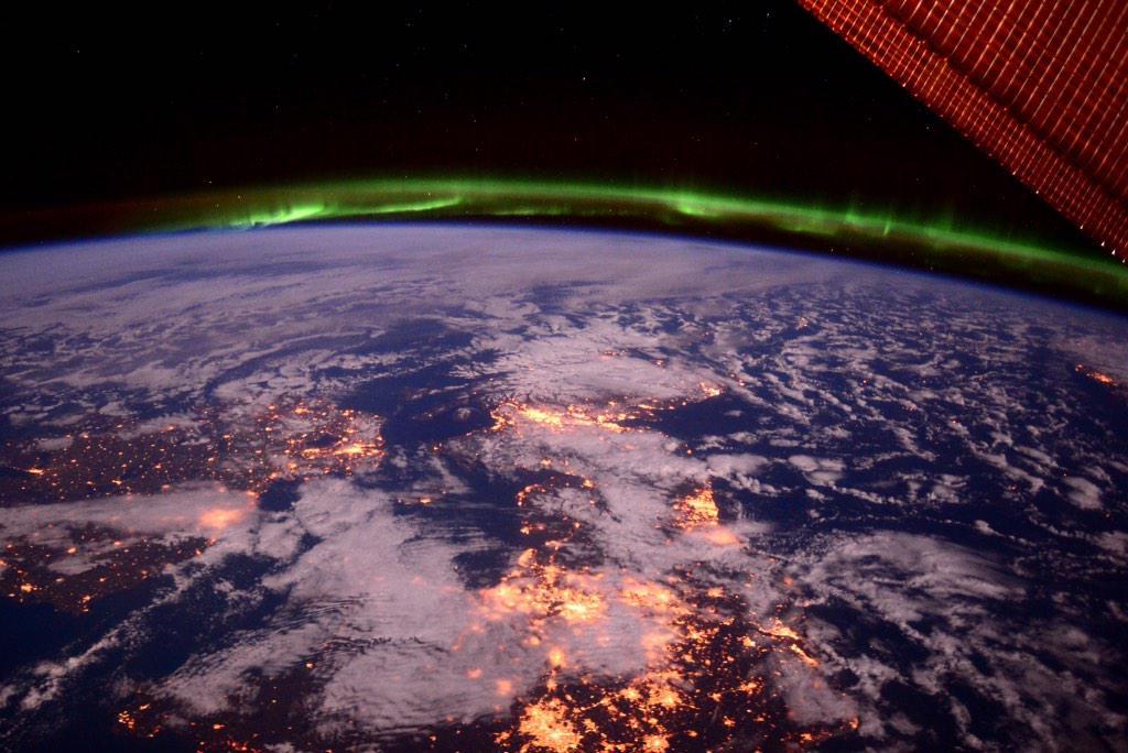Фотографии Земли с МКС от космонавта Терри Вертса - 8