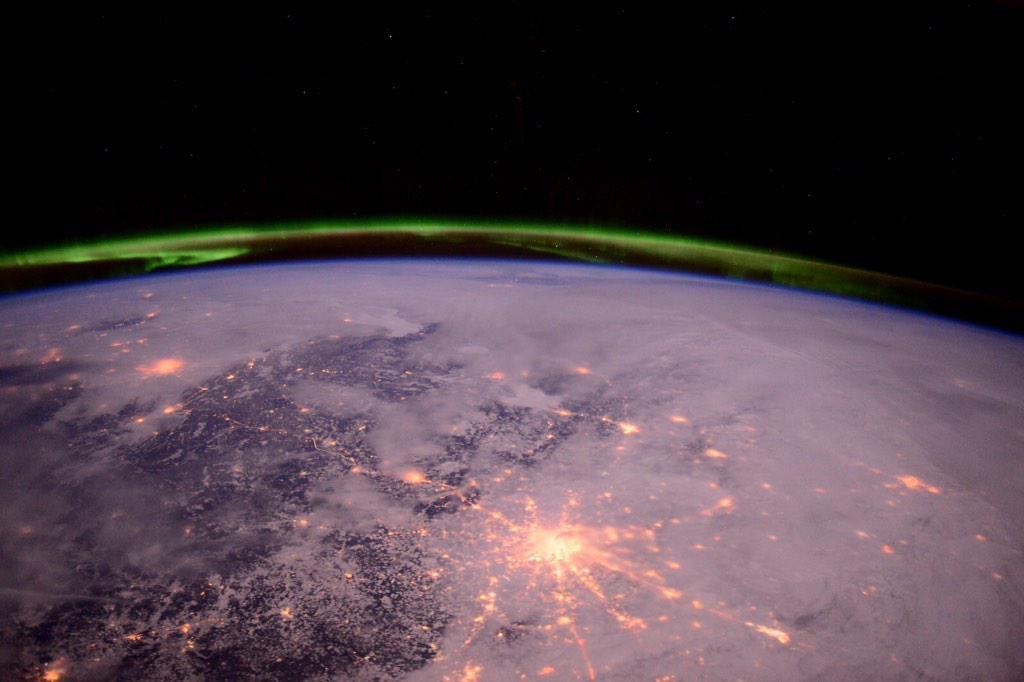 Фотографии Земли с МКС от космонавта Терри Вертса - 9