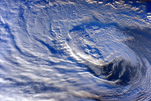 Фотографии Земли с МКС от космонавта Терри Вертса - 1