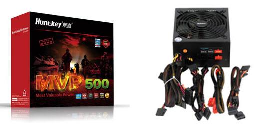В серию блоков питания Huntkey MVP вошли модели мощностью 500 и 600 Вт