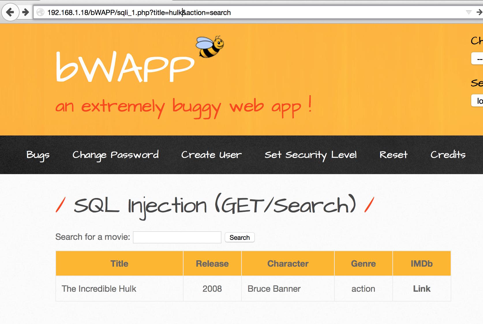 Обзор площадки для тестирования веб-уязвимостей OWASP Top-10 на примере bWAPP - 5