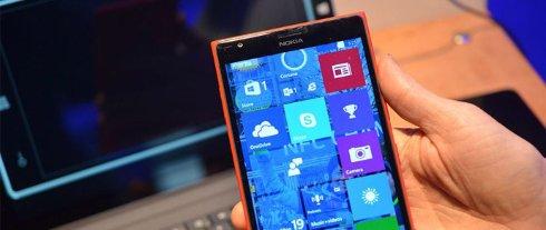Состоялся релиз предварительной версии Windows 10 для смартфонов