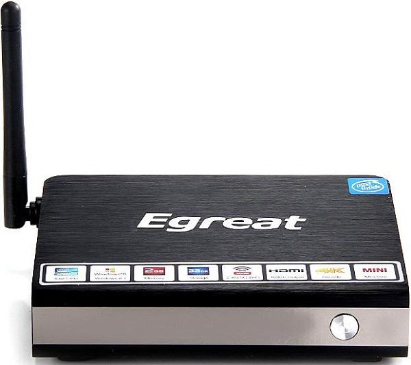 Мини-ПК Egreat i6 на платформе Intel Bay Trail заключен в алюминиевый корпус - 1