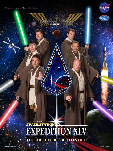 Постер МКС-45 - 1