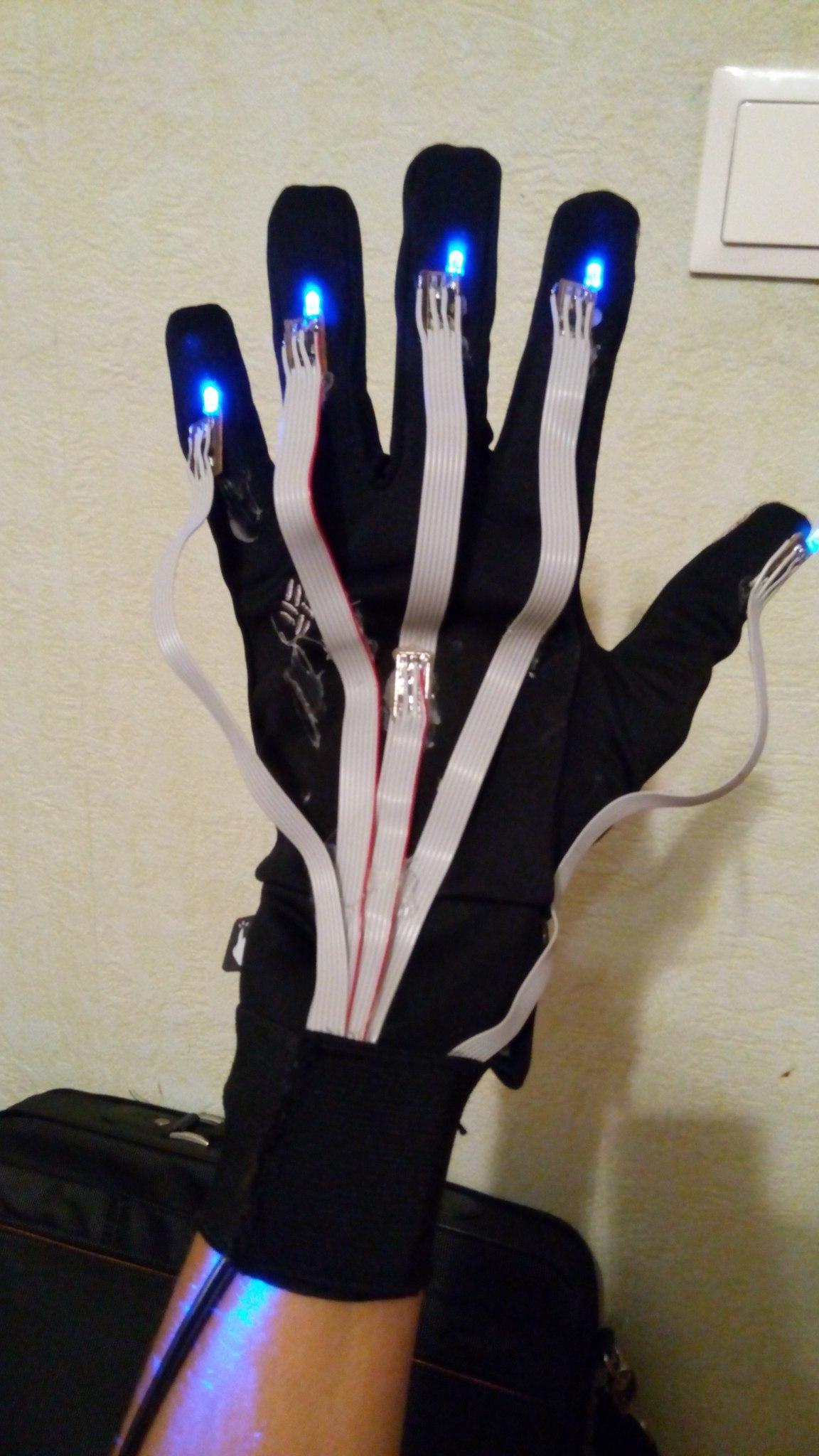 Собираем перчатку для определения положения руки сами - 7
