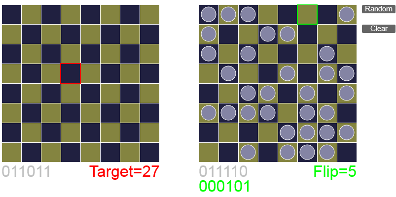 Задача о 64 монетах, двух заключённых и одной шахматной доске - 6
