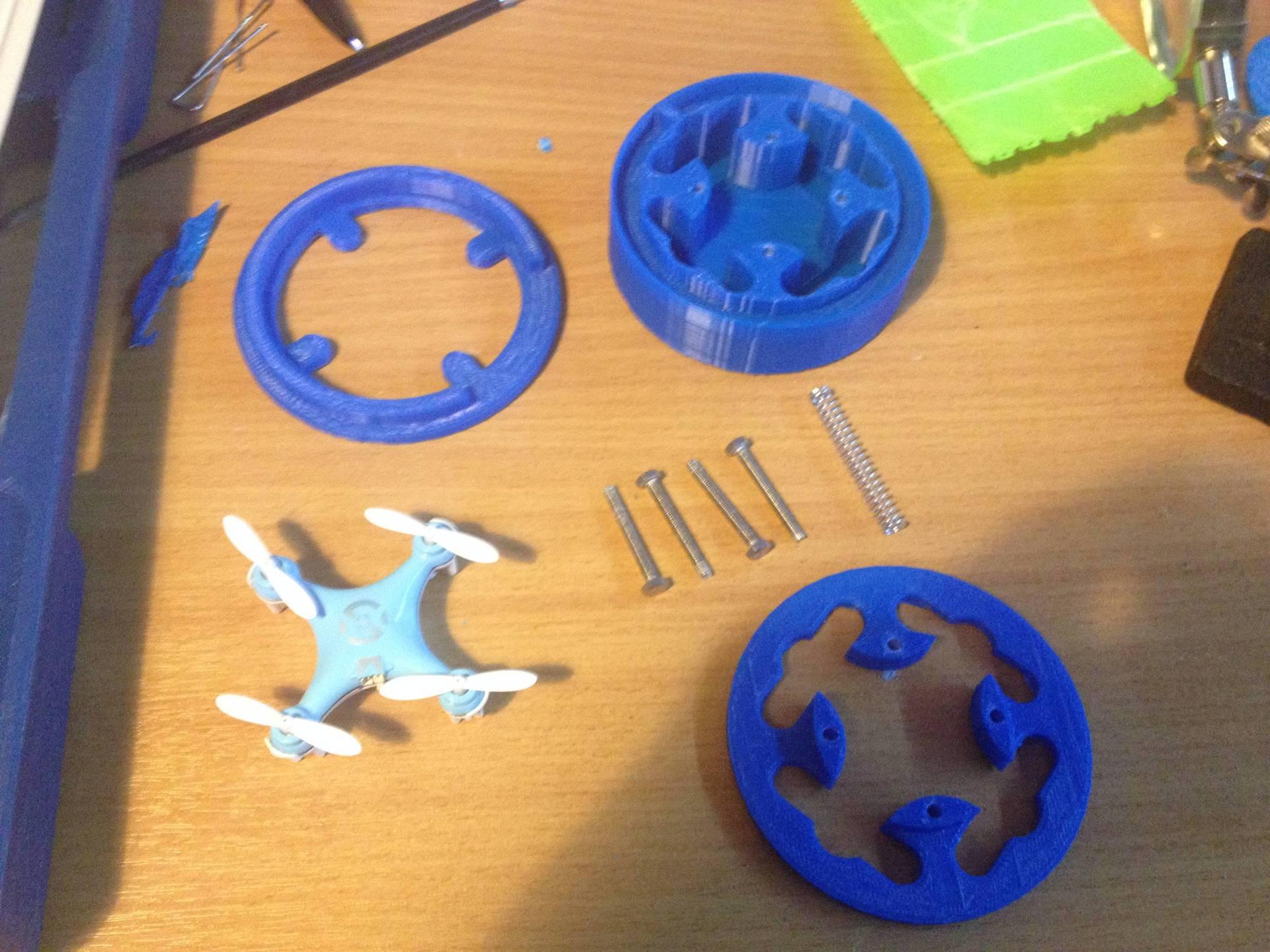 Карманный кейс на 3D принтере для мини-квадрокоптера Cheerson CX-10 - 2