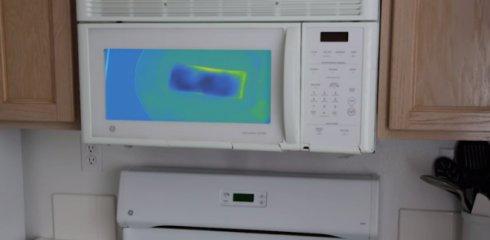 Первая в мире микроволновка с тепловизором