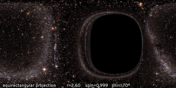 Рендеринг Interstellar и гравитационное линзирование - 1