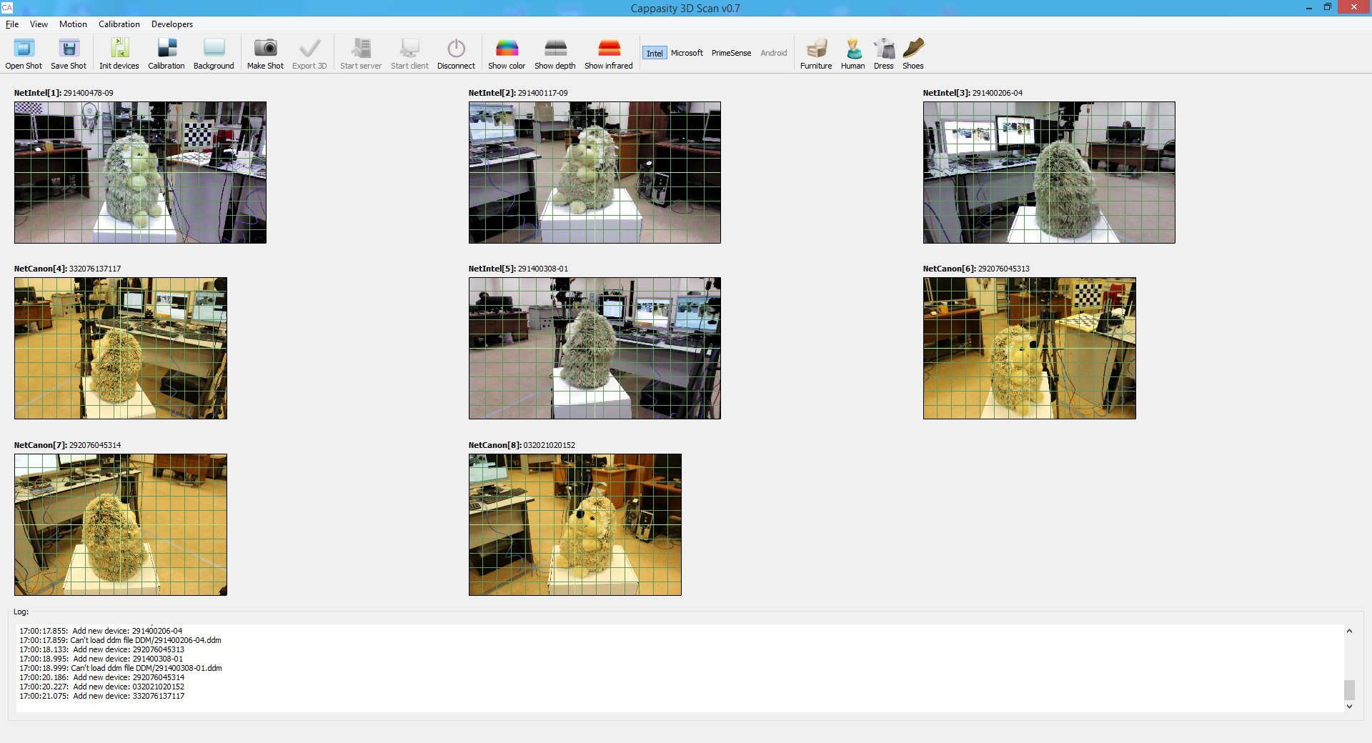 Сappasity 3D Scan – 3D сканирование с использованием Intel RealSense. Опыт разработки - 5
