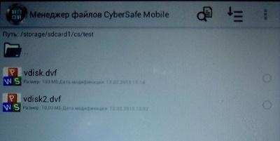 Совместное использование криптодисков на ПК и Android - 23