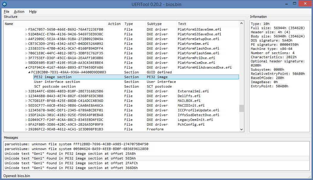 Возвращаем оригинальные страницы меню в Phoenix SCT UEFI - 1