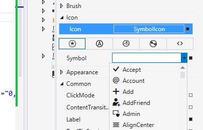 Использование AppBarButton в Windows 8.1 - 3