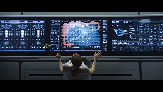 Компьютерные интерфейсы в кино — эволюция воображения - 36