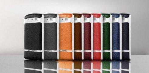 Представлен дорогостоящий смартфон из кожи бизона