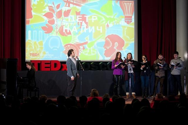 Репортаж «Мегамозга» с конференции TEDx Moscow - 4