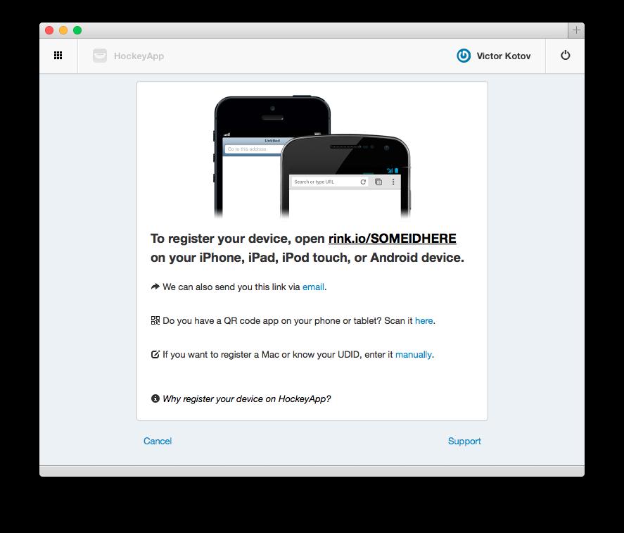 Сервисы дистрибуции мобильных приложений для iOS. Часть 2: HockeyApp - 4