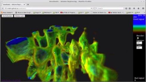 3D визуализация сигнала WiFi