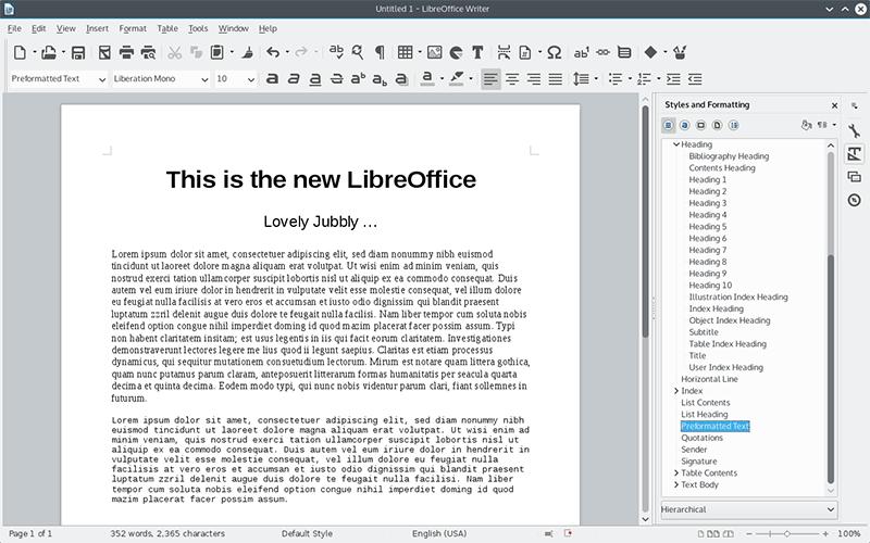 LibreOffice 4.4 рулит - 3