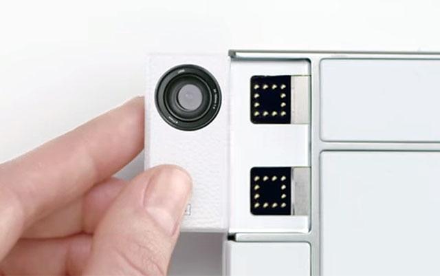 Первые камера-модули для модульного смартфона Project Ara - 2