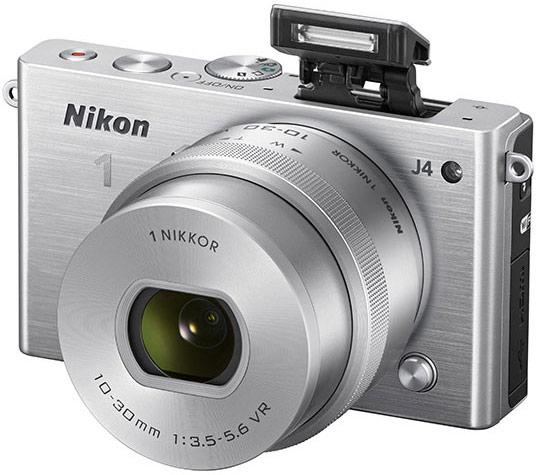 Беззеркальная камера Nikon 1 J4 оснащена модулем Wi-Fi