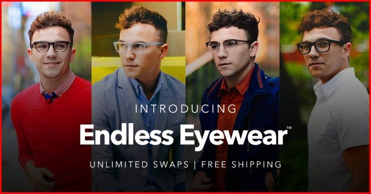 Endless Eyewear: новый сервис, позволяющий менять солнцезащитные и оптические очки каждый месяц - 1