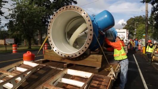 Водопровод Портленда превратят в мини-ГЭС - 1