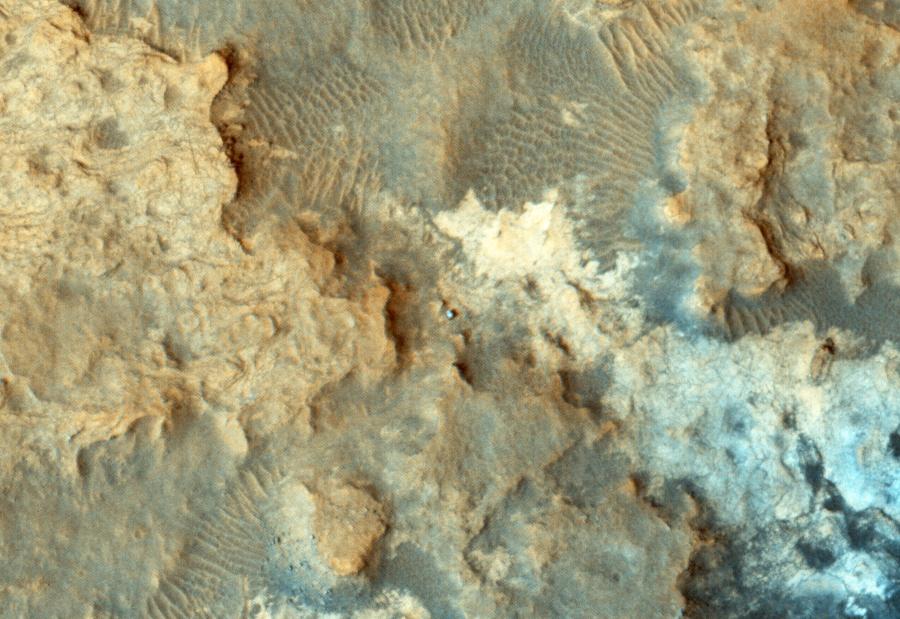 Curiosity у подножия горы Шарпа - 2
