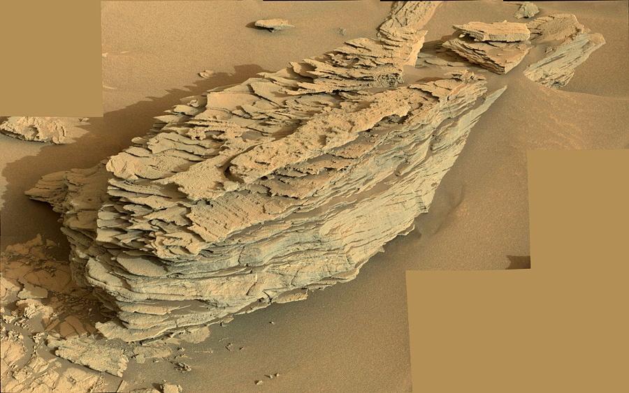 Curiosity у подножия горы Шарпа - 3