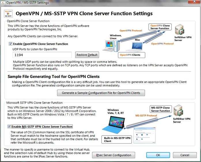 NAS + SoftetherVPN=универсальный VPN сервер - 15