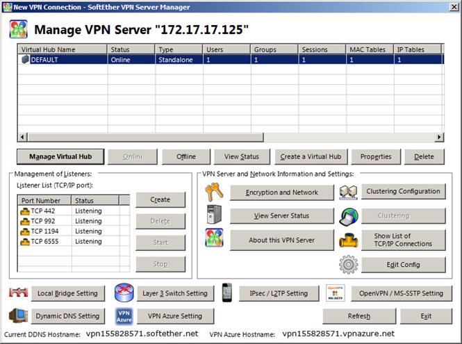 NAS + SoftetherVPN=универсальный VPN сервер - 8