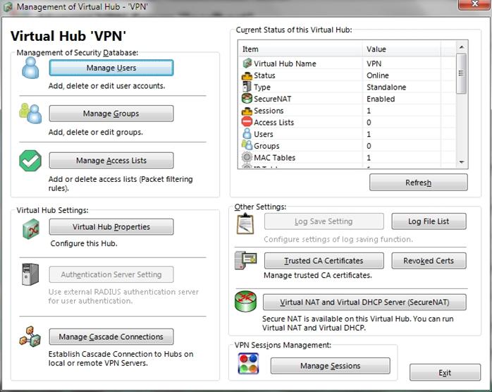 NAS + SoftetherVPN=универсальный VPN сервер - 9
