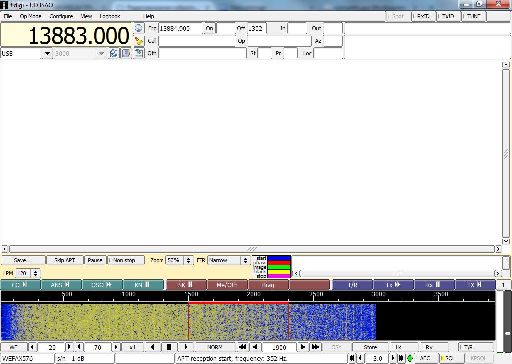 Приём радиофаксов и прочих цифровых передач с помощью обычного приёмника и компьютера - 5