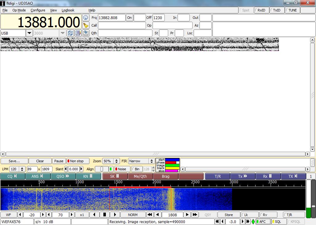 Приём радиофаксов и прочих цифровых передач с помощью обычного приёмника и компьютера - 6