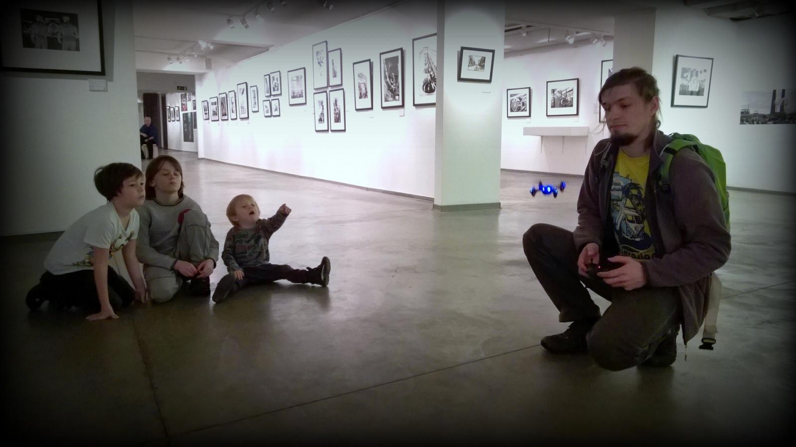 Три бюджетных квадрокоптера с камерами в историческом музее «Коломенское» - 11