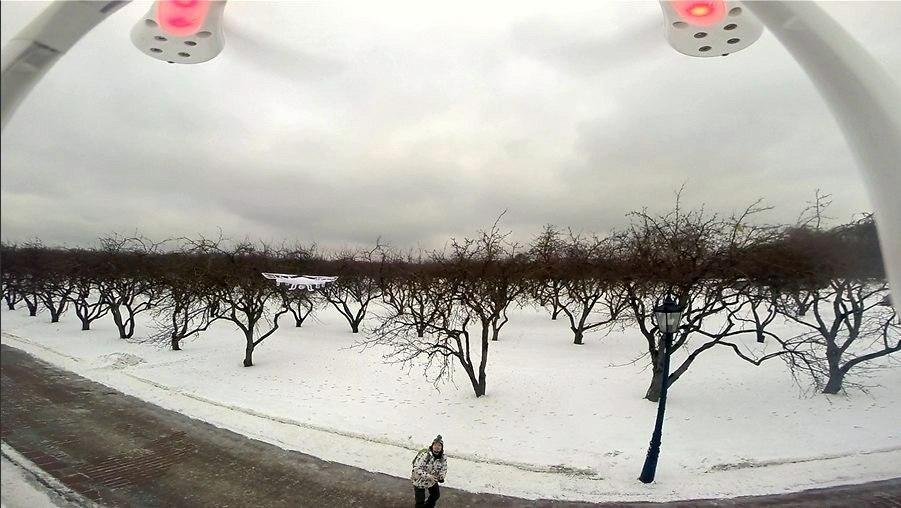 Три бюджетных квадрокоптера с камерами в историческом музее «Коломенское» - 13