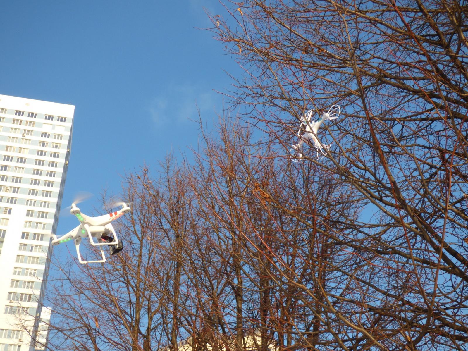 Три бюджетных квадрокоптера с камерами в историческом музее «Коломенское» - 14