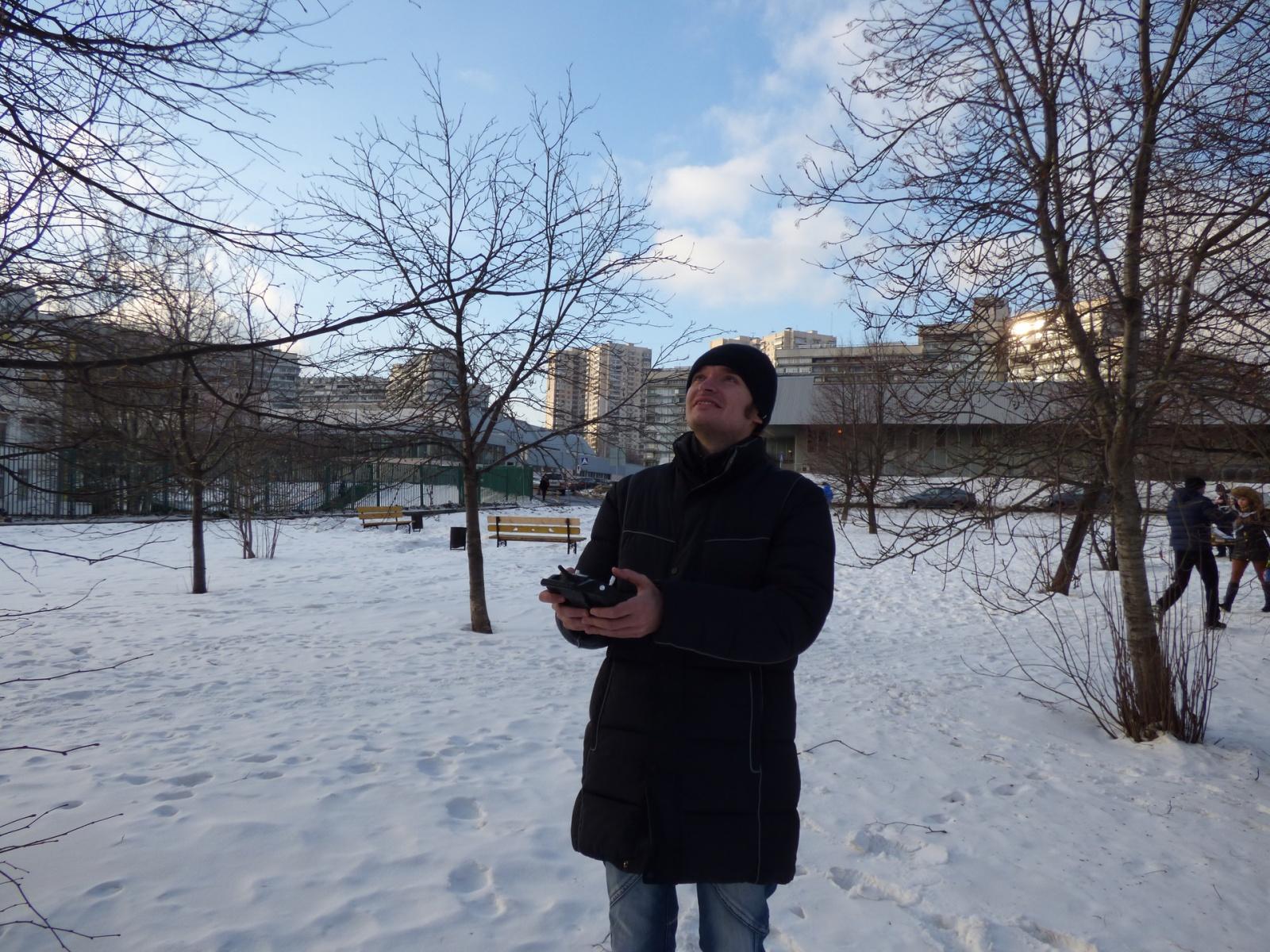 Три бюджетных квадрокоптера с камерами в историческом музее «Коломенское» - 16