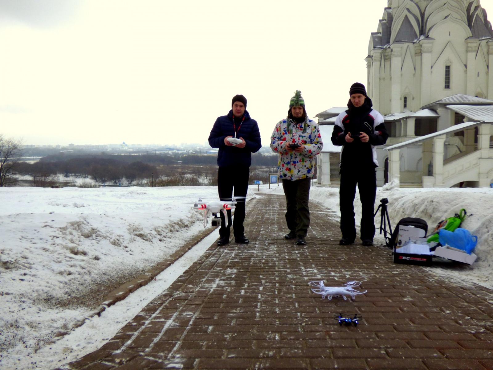 Три бюджетных квадрокоптера с камерами в историческом музее «Коломенское» - 7