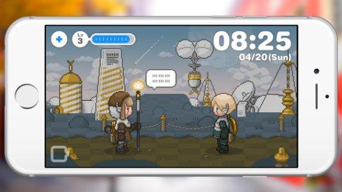 Dreeps — игра для iPhone, которая играет сама в себя